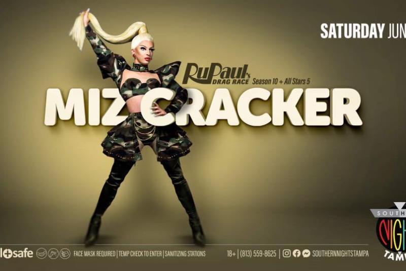 Miz Cracker from RuPaul's Drag Race