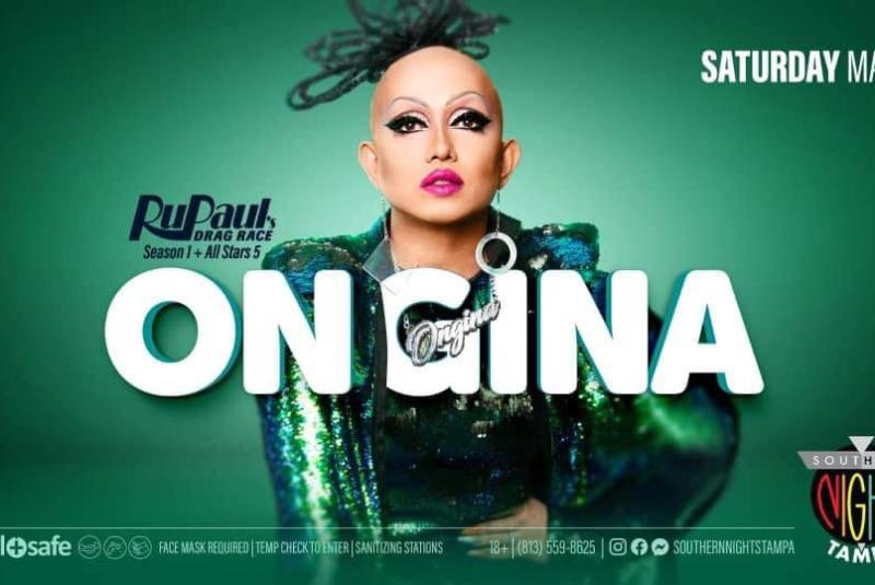 Ongina from RuPaul's Drag Race