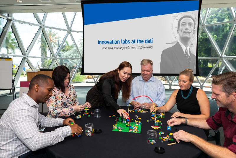 Innovation Labs at The Dalí: Bridges and Barriers (Free Online Workshop)
