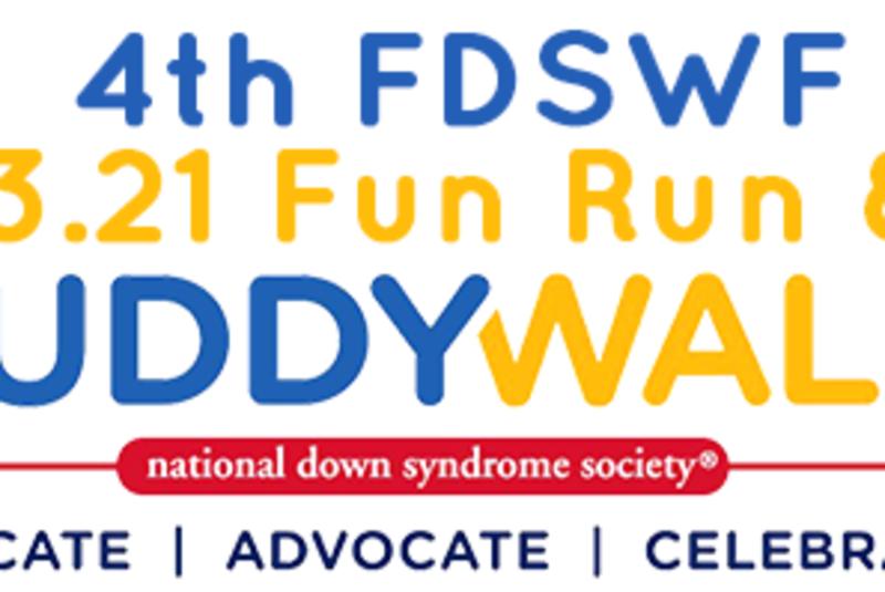 4TH FDSWF 3.21 FUN RUN & BUDDY WALK