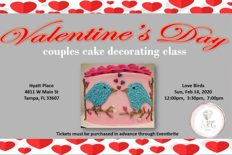 Valentine's Day Couples Cake Decorating Event