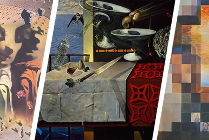 """Visual Magic: Dali's Masterworks in Augmented Reality"""