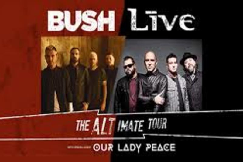 Bush & +LIVE+ - The Altimate Tour