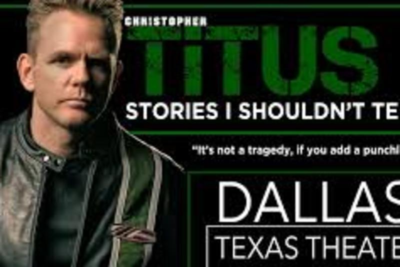 Combusion Live Presents Christopher Titus: Stories I Shouldn't Tell