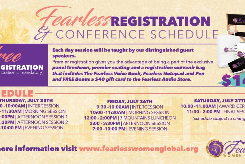 Fearless Women Global: Fearless Voice 2019