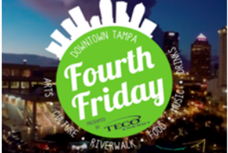 Fourth Friday Downtown Tampa