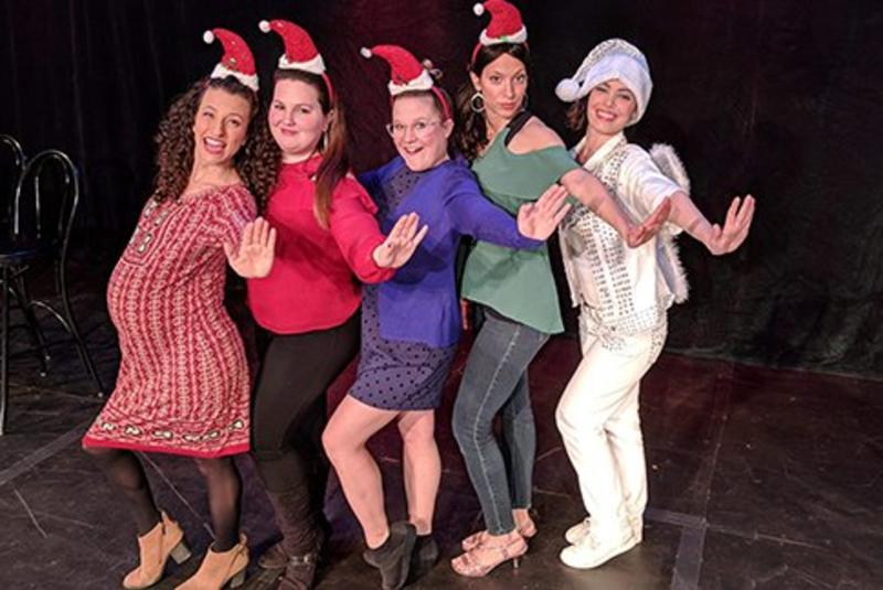 Twas A Girls Night Before Christmas: The Musical