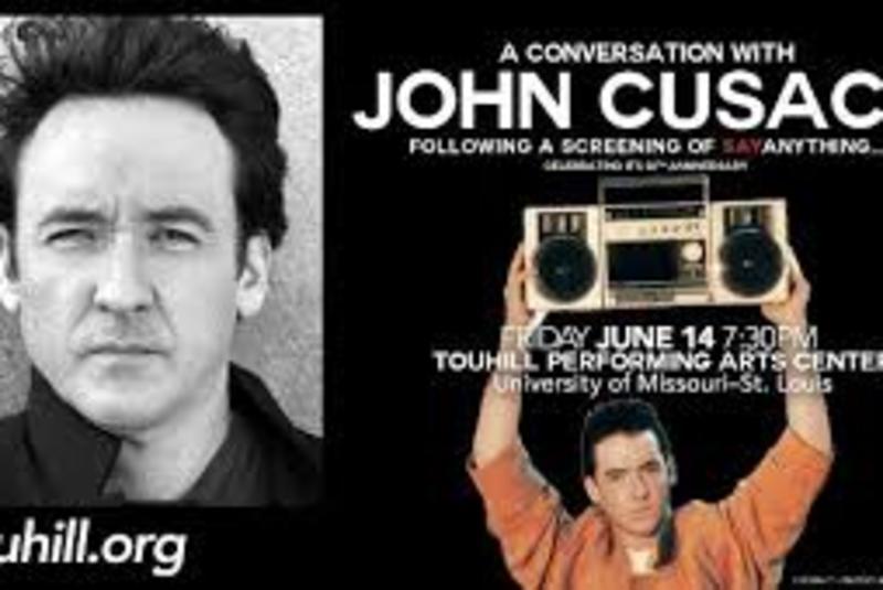 John Cusack plus a screening of Say Anything