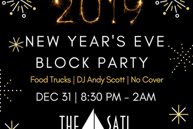 New Year's Eve Block Party @ The Sail