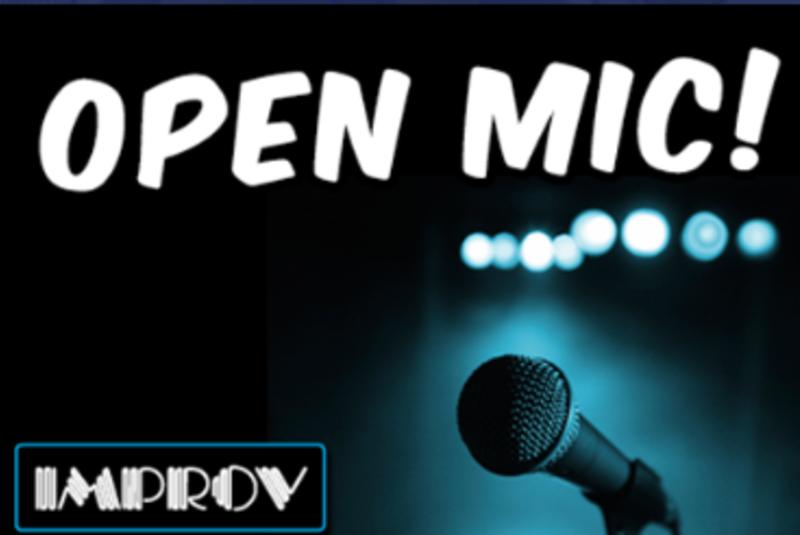 OPEN MIC NIGHT @ IMPROV BAR STAGE