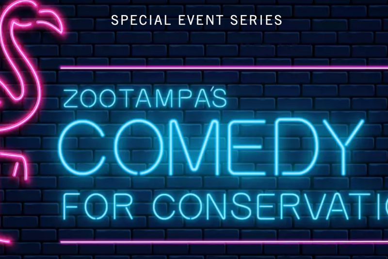 Comedy for Conservation at ZooTampa