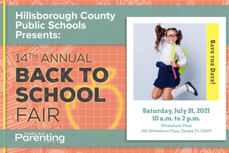 14th Annual Back-to-School Fair presented by Hillsborough County Schools