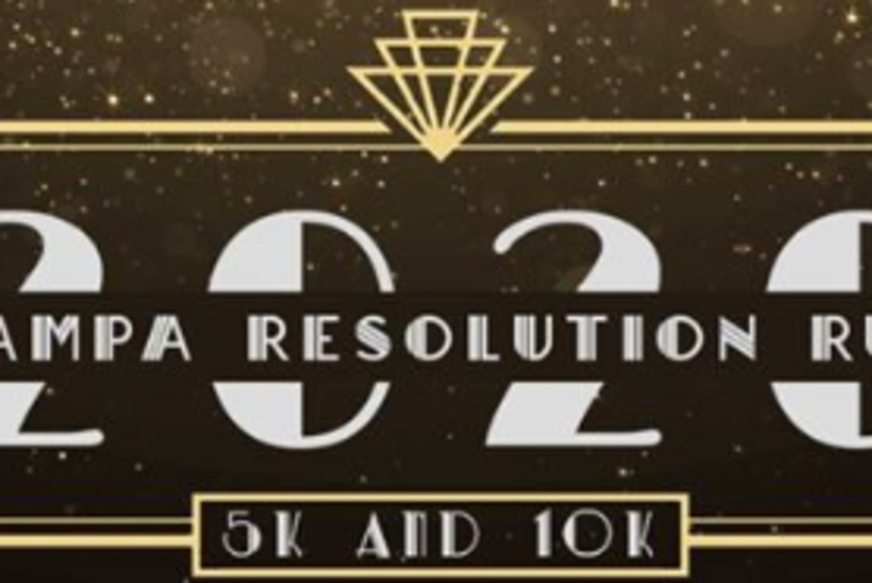 The 2020 Tampa Resolution Run 5k and 10k