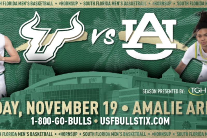 USF Men's Basketball: USF vs. Auburn