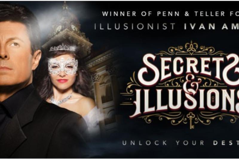 Illusionist Ivan Amodei presents Secrets & Illusions