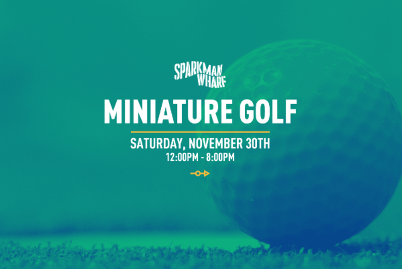 Sparkman Wharf Miniature Golf