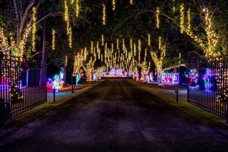 Tampa Bay's Festival of Lights and Santa's Village