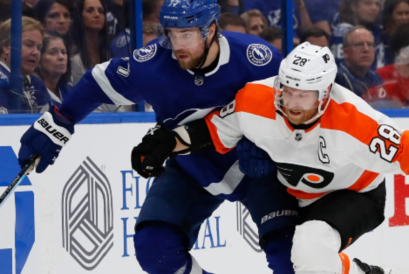 Tampa Bay Lightning vs. Philadelphia Flyers