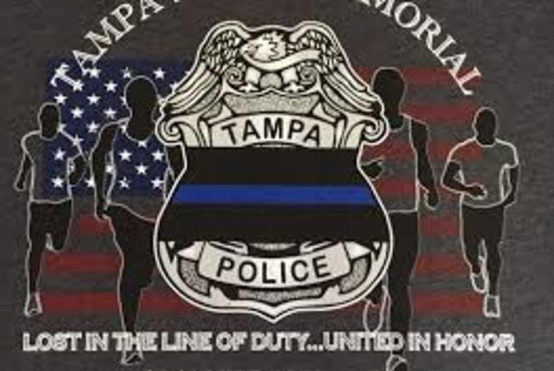 25th Annual Tampa Police Memorial Run 5K & 1 Mile Run/Walk