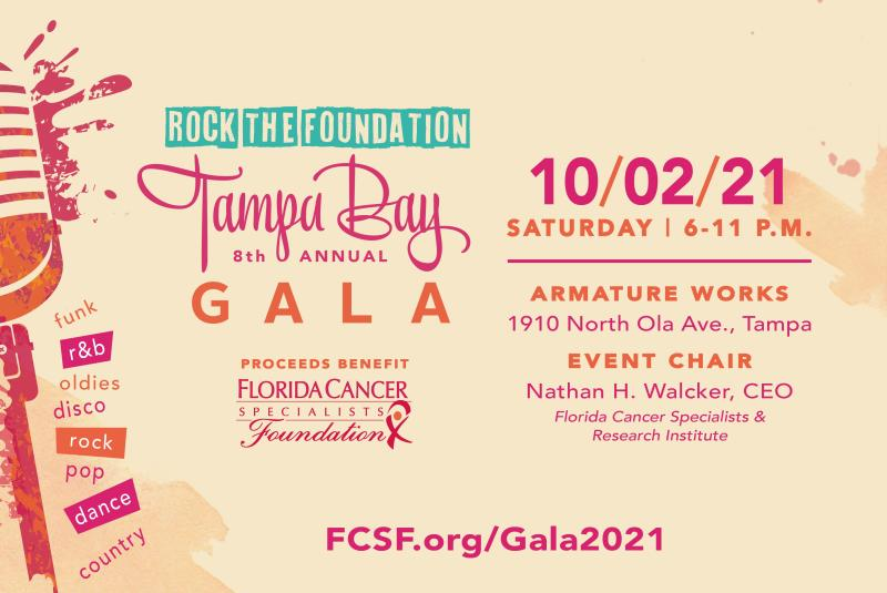 Florida Cancer Specialists Foundation's Annual Tampa Bay Gala