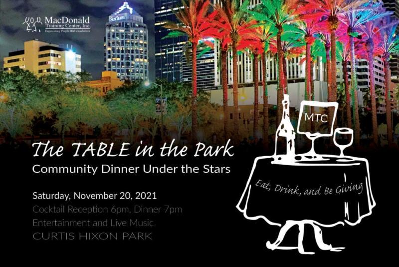Table in the Park Community Dinner