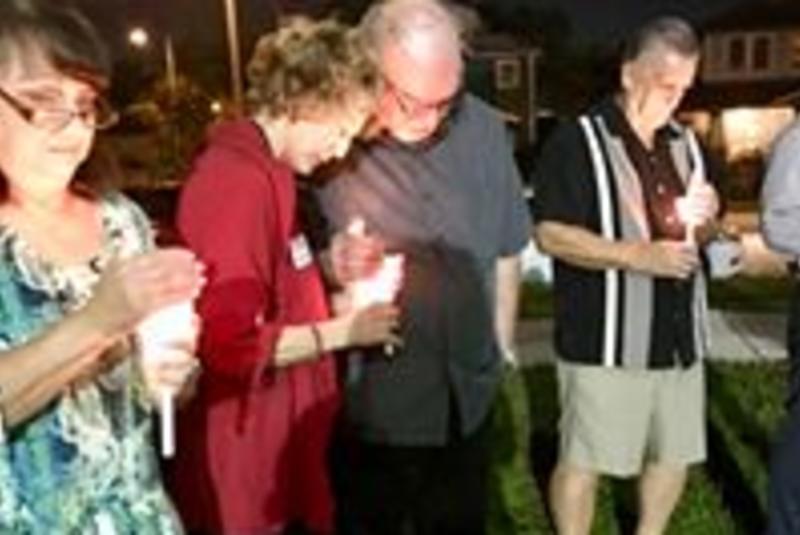 NOPE of Hillsborough Candlelight Vigil