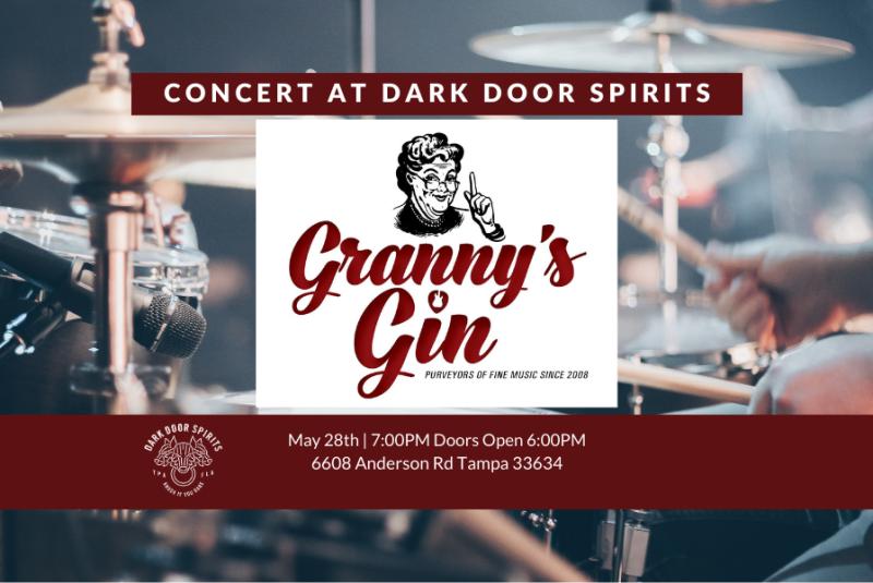 Granny's Gin at Dark Door Spirits