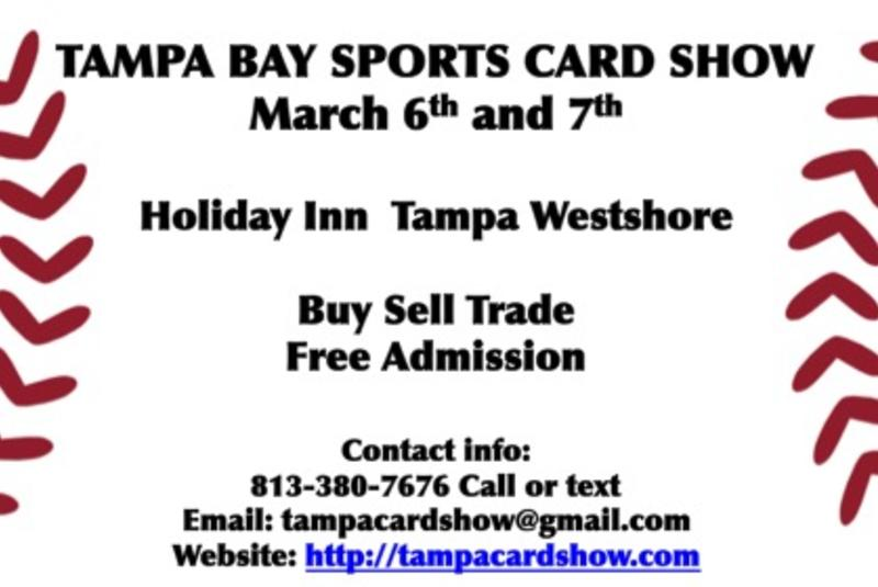 Baseball Card Show Tampa Bay