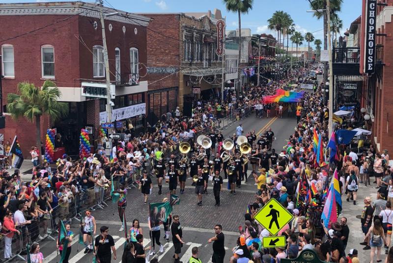 Tampa Pride 2021 Diversity Parade
