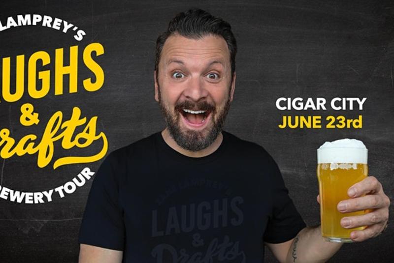 Zane Lamprey's Laughs & Drafts at Cigar City Brewing
