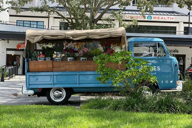 Posie's Flower Truck at Hyde Park Village