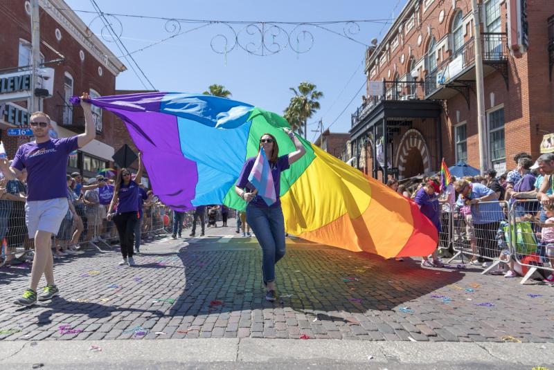Tampa Pride at Night 2021