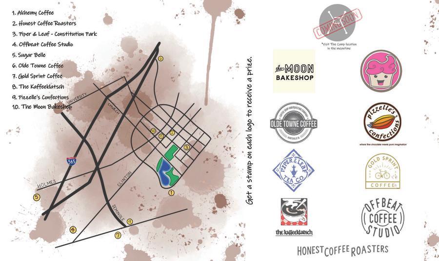 Craft Coffee Trail Card