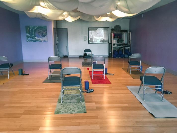 Arlington Yoga Center chair yoga