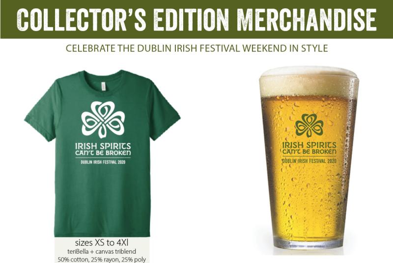 Dublin Irish Festival Merchandise