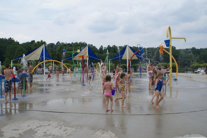 Hawk Island Splash Pad