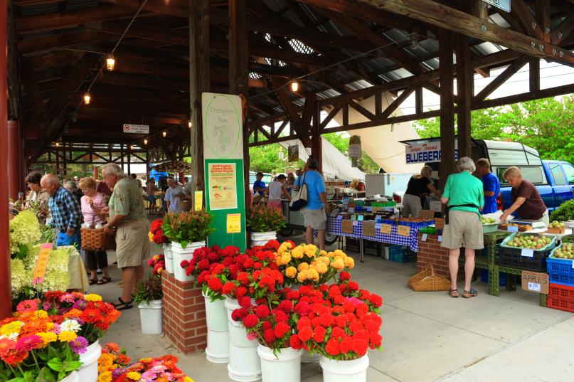 Carrboro Farmers market