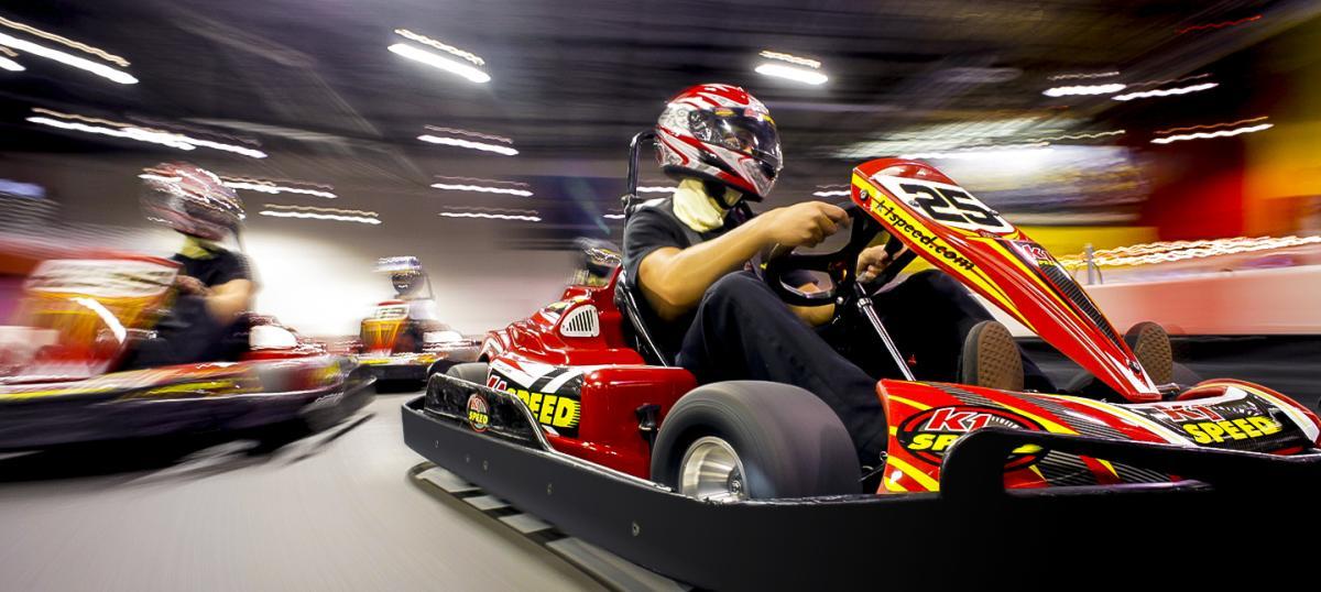 K1 Speed go-kart racing