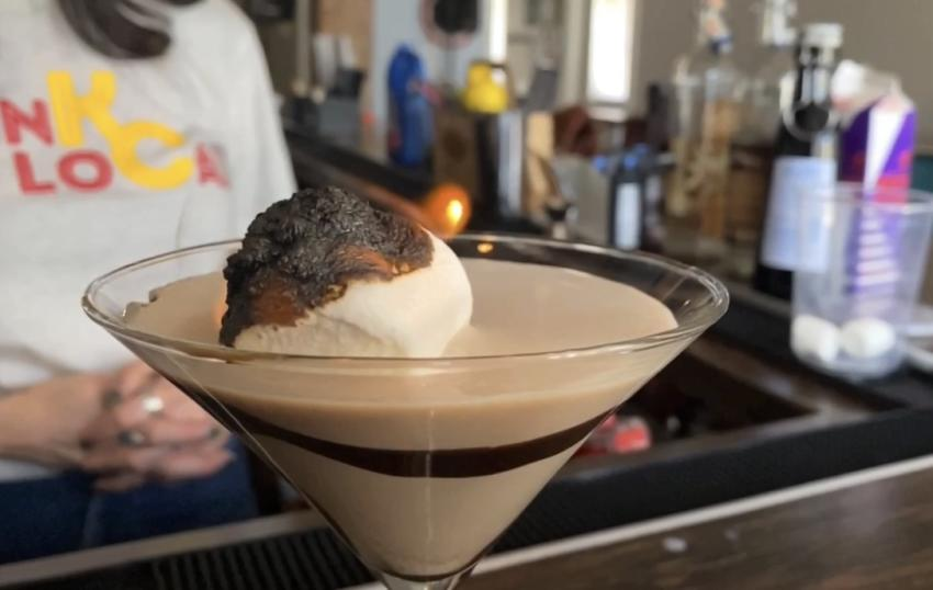 Chocolate Marshmallow Martini Mockingbird Lounge