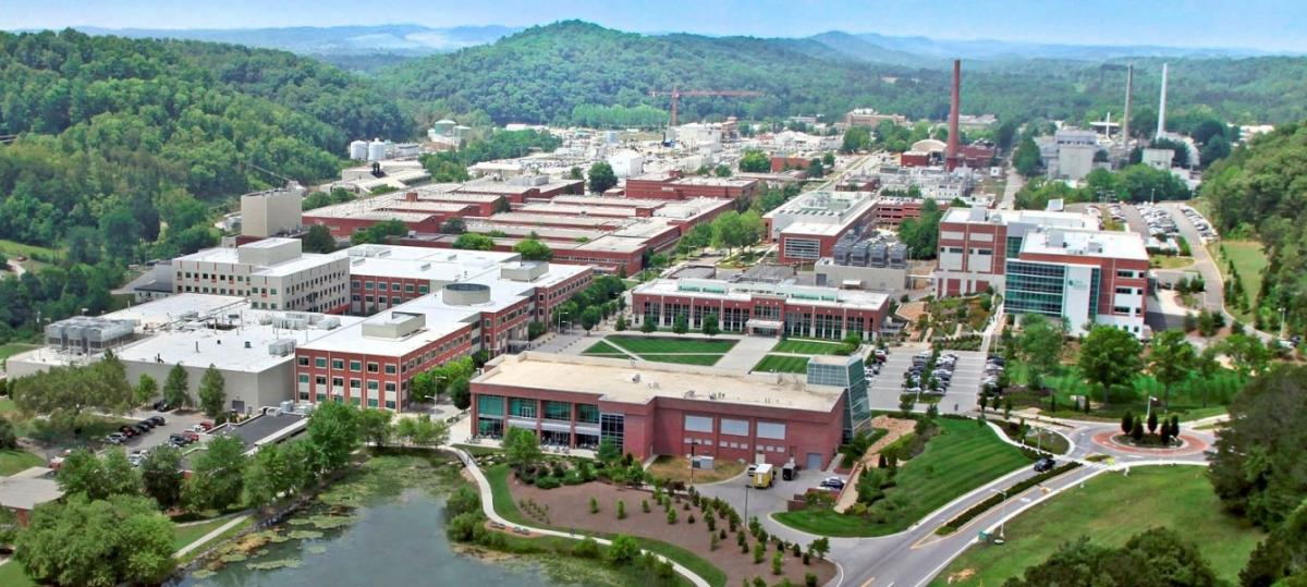 Aerial View of Oak Ridge National Laboratory – Open source image; owner is the Federal Government