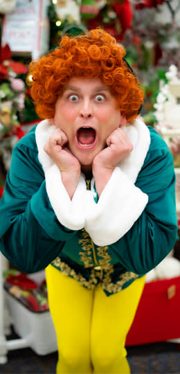 """Buddy the Elf from SCERA's """"Elf the Musical"""""""