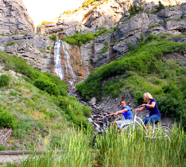 Highlights of Utah Valley Itinerary - Waterfall