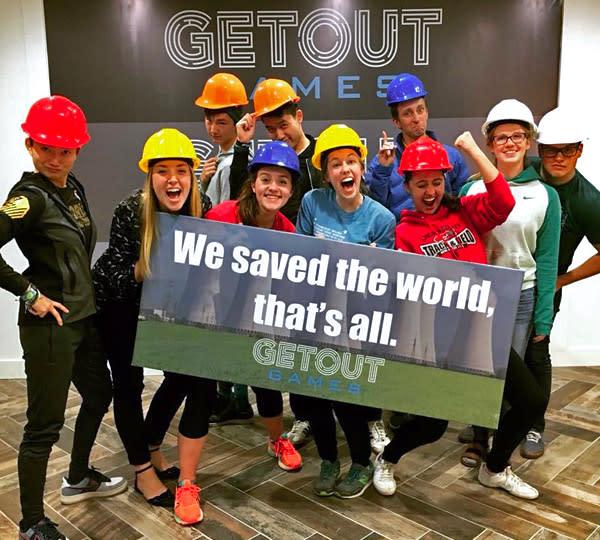 Getout Games Escape Room Team