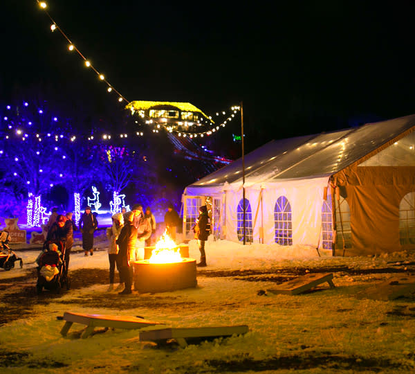 Luminaria Party Tent