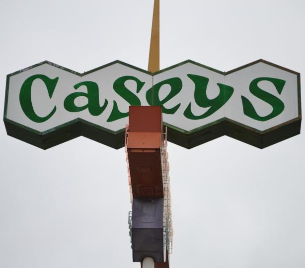Casey's Restaurant Sign