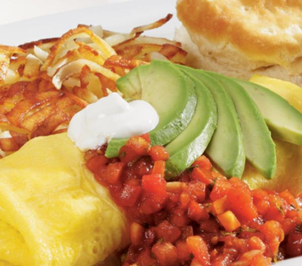 Spanish omlette breakfast