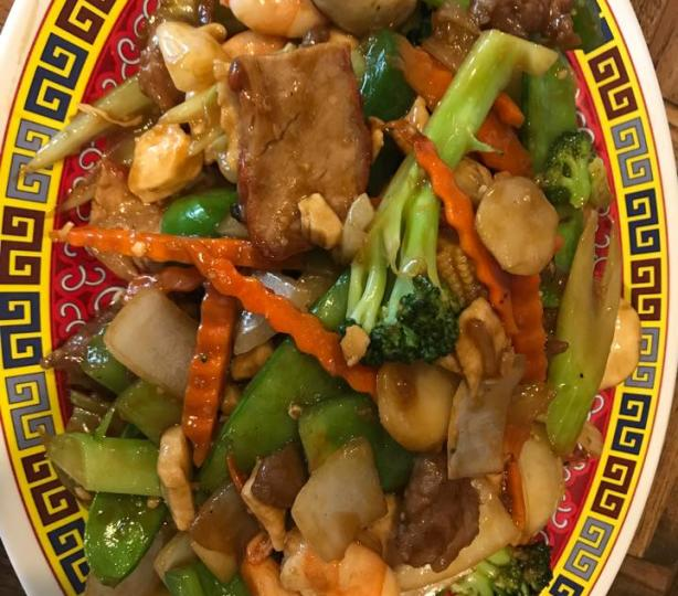 Chinese sauteed vegetables
