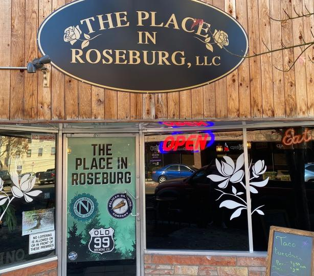 Entrance to The Place In Roseburg, LLC