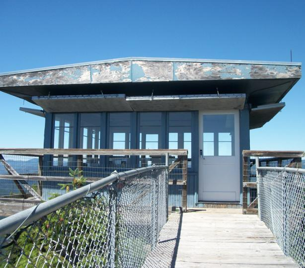 Acker Rock Lookout entrance