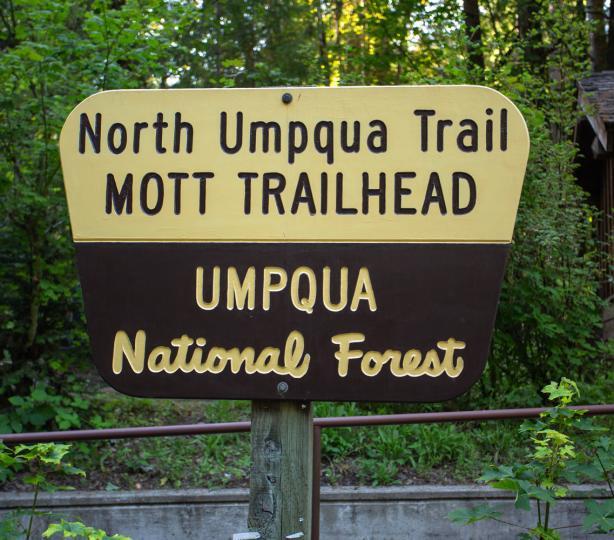 Mott Trailhead